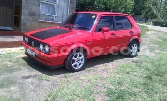 Buy Volkswagen Golf Red Car in Maseru in Maseru